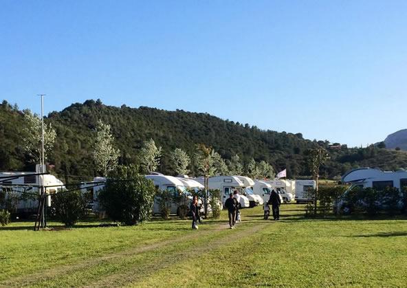 Area sosta ciro park