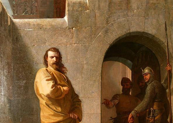 gregorio vii umiliazione di canossa